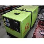 Pramac Pro Tech 1100 10kVA 110v/240v switchable generator, Yanmar 3 cylinder diesel (recent new