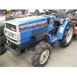 Mitsubishi MT1401D DX 4x4 compact tractor, K3B-13A 3 cylinder diesel showing 1058 hours, with