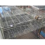 8 various galvanized wire cage traps