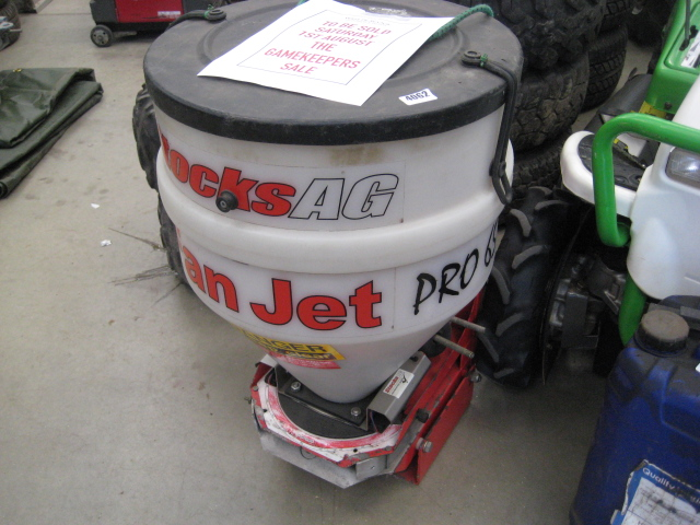 Stocks AG Fan Jet Pro 65 rotary spreader with controller