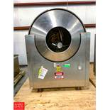 Velo Nicomac S/S Polishing Pan Model Nicomatic Pan.Size CVN 350, S/N 7975/10/91/5 Rigging Fee: $