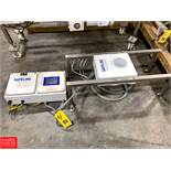 """Safeline Gravity Fall Metal Detector with 5"""""""" Aperture Rigging Fee: $ 75"""