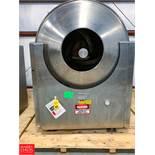 Nicomac S/S Polishing Pan Model Polishing 350, S/N 043/97 V5502 Rigging Fee: $ 150