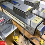 "Lock S/S Metal Detector, Type 30+, 33.75"" X 3"" Aperture Rigging Fee: $ 75"