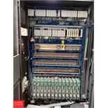 Allen Bradley Logix 5555 PLC Controler, I/O Modules, Servo Drives, Relays and Cabinet Rigging Fee: $