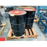 Drums Vegalube Depanning Oil Rigging Fee: $ 25