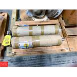 Inter Roll Joki Product Conveyor Drives Type 1655/600, S/N 9589, and 11115 Rigging Fee: $ 50