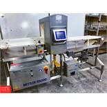 """2018 Mettler Toledo Safeline Metal Detector Model PRO 516 Touch, S/N 133461, with 10"""" X 14"""""""