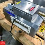 "Lock S/S Metal Detector, Type 30+, 13.5"" X 4"" Aperture Rigging Fee: $ 75"