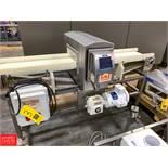 """Eriez S/S Metal Detector, Type E-Z Tec, 10"""" Width Conveyor Belt, 12"""" X 4.5"""" Aperture Rigging"""