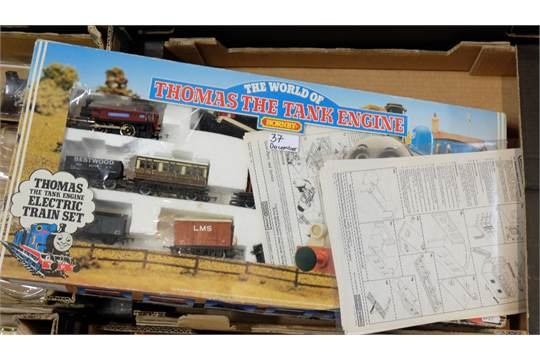 Hornby Thomas The Tank Engine Boxed Train Set With Instructions And