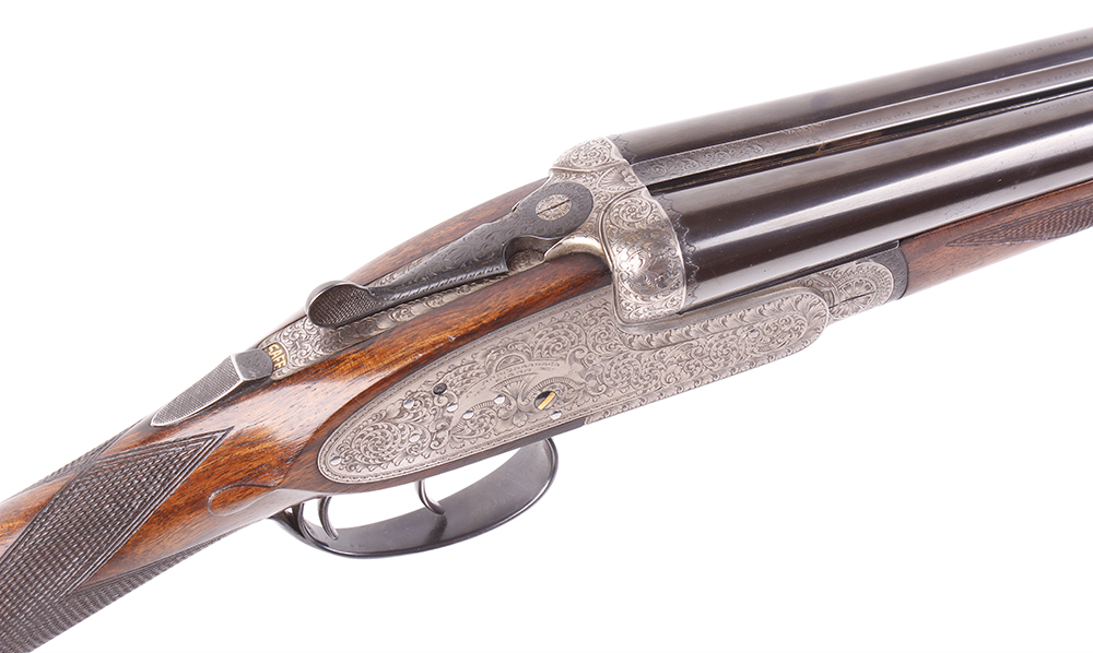 (S2) 20 bore self opening sidelock ejector by Pedro Arrizabalaga, with 26½ ins chopper lump barrels, - Image 16 of 22