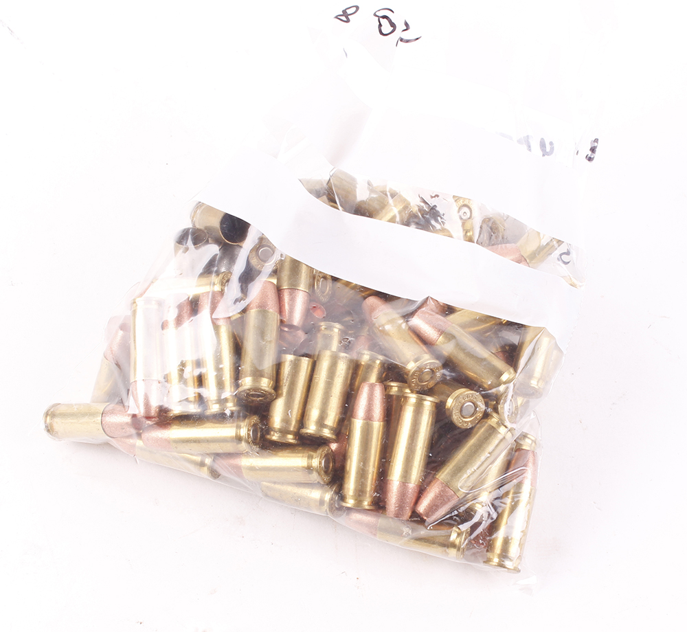 (S1) 73 x .38(Spl) cartridges with 22 brass cases [Purchasers please note: Section 1 licence
