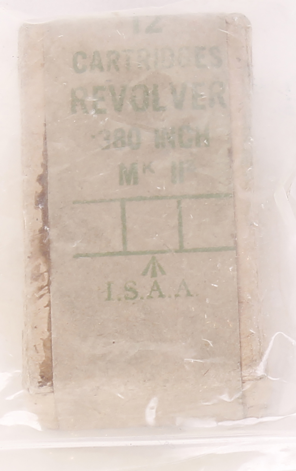 (S1) 12 x .380 Revolver cartridges in packet [Purchasers please note: Section 1 licence required.