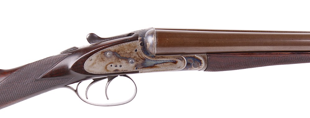 (S2) 12 bore sidelock ejector by Thomas Bland & Sons, 28 ins brown damascus barrels (recent nitro - Image 2 of 7
