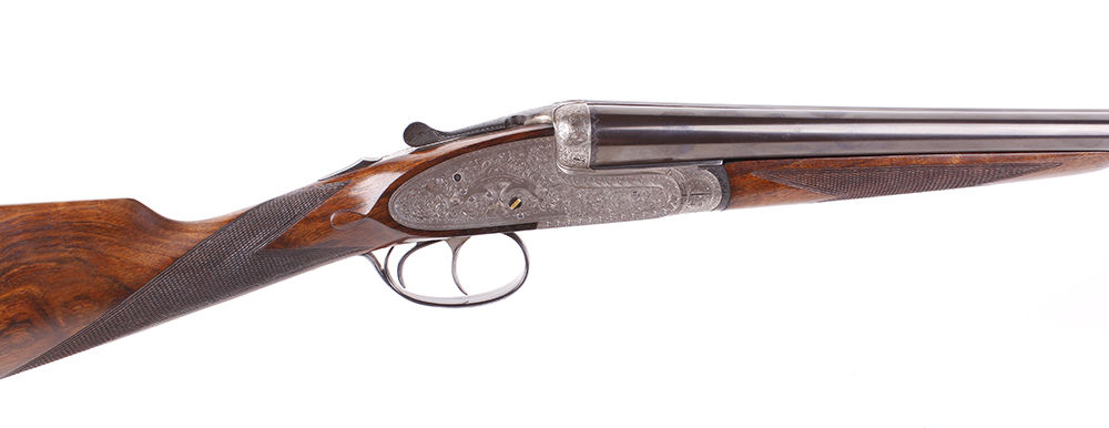 (S2) 20 bore self opening sidelock ejector by Pedro Arrizabalaga, with 26½ ins chopper lump barrels, - Image 3 of 22