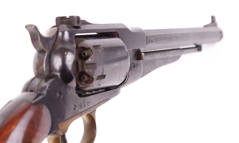 (S1) .44 Pietta Remington 1858 percussion black powder target revolver, 8 ins octagonal barrel, - Image 2 of 2