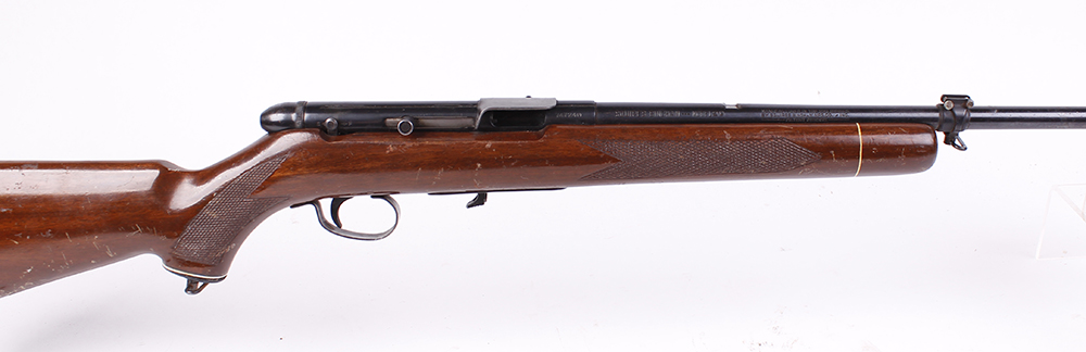 (S1) .22 Squires Bingham Model 20, semi automatic, (no magazine; no sights), no.747248 [Purchasers