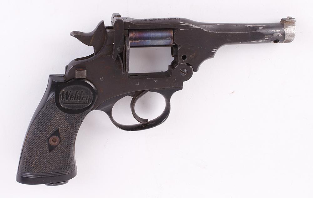 (S5-SF31) .32 Webley single shot humane dispatch pistol (revolver conversion), no. 209 [Purchasers