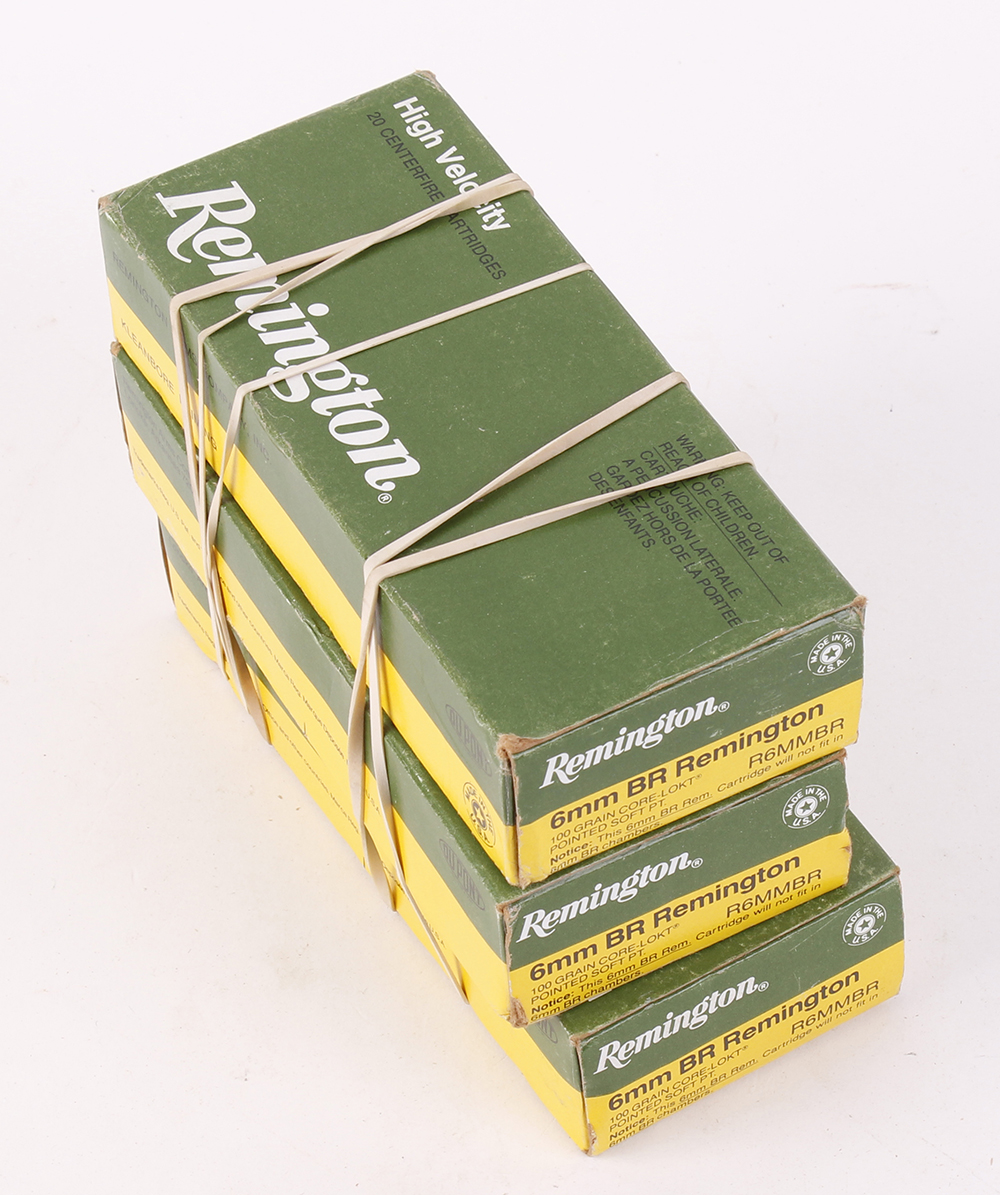 (S1) 60 x 6mm (BR Rem) 100gr soft point cartridges [Purchasers please note: Section 1 licence
