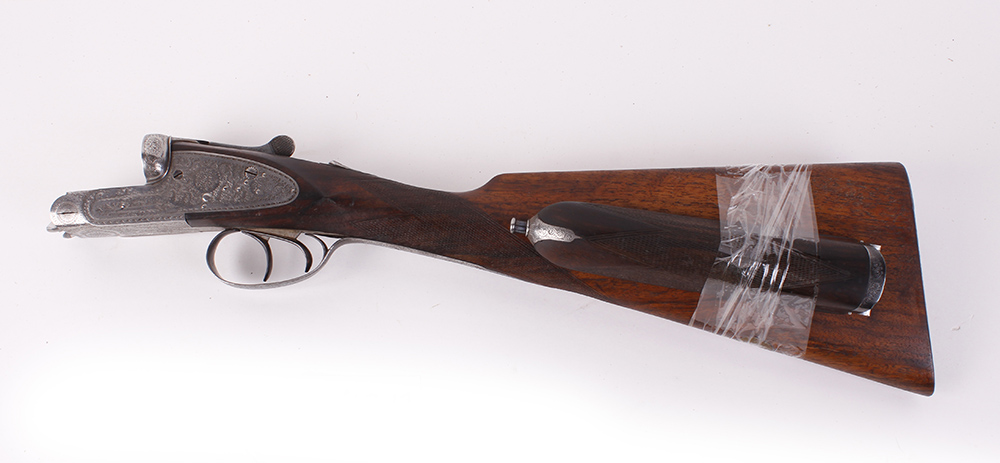 (S2) The stock action and forend of a 12 bore sidelock ejector by F. Williams, originally with 28 - Image 2 of 2