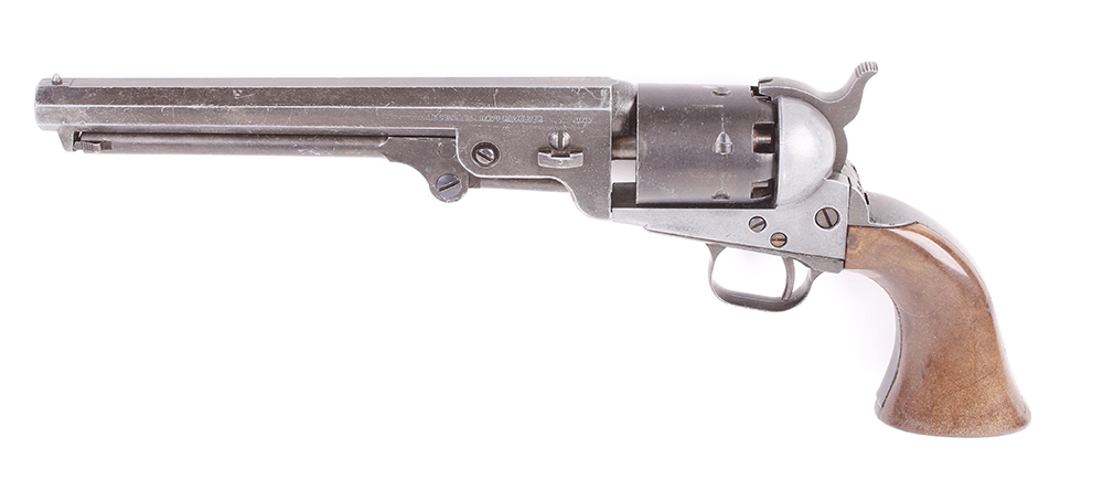 Lot 733 - Replica MGC Old Frontier Navy revolver, no. 15514, in box. This Lot is offered for the purposes of