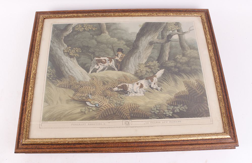 Seven various framed and glazed prints, mostly hunting and shooting scenes - Image 4 of 7