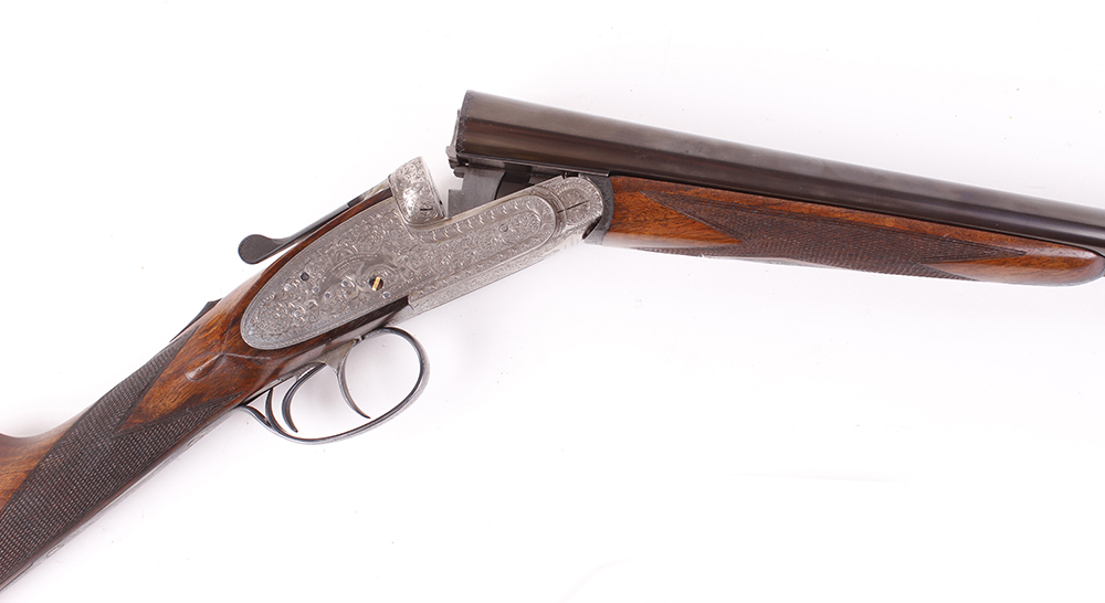(S2) 20 bore self opening sidelock ejector by Pedro Arrizabalaga, with 26½ ins chopper lump barrels, - Image 6 of 22