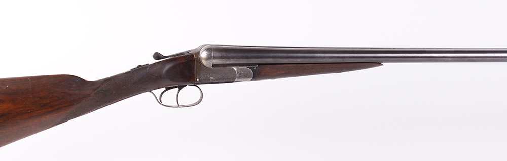 (S2) 12 bore boxlock ejector by Cogswell & Harrison, 30 ins barrels, ic & ¼, the rib inscribed