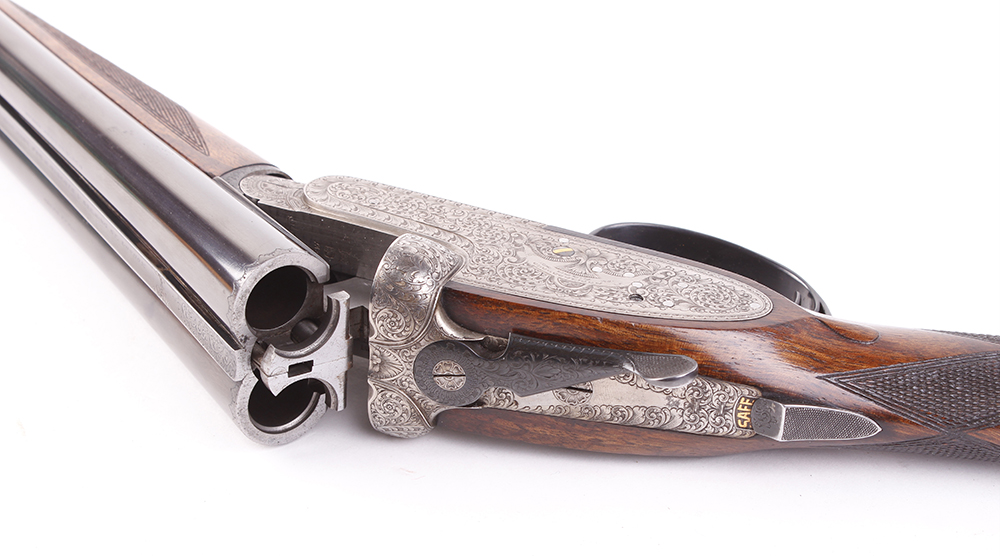 (S2) 20 bore self opening sidelock ejector by Pedro Arrizabalaga, with 26½ ins chopper lump barrels, - Image 19 of 22