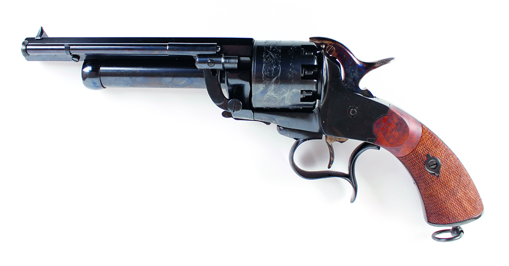 (S1) .44/20 bore Pietta Le Matt black powder percussion 9 shot revolver, 7 ins octagonal barrel ( - Image 8 of 9