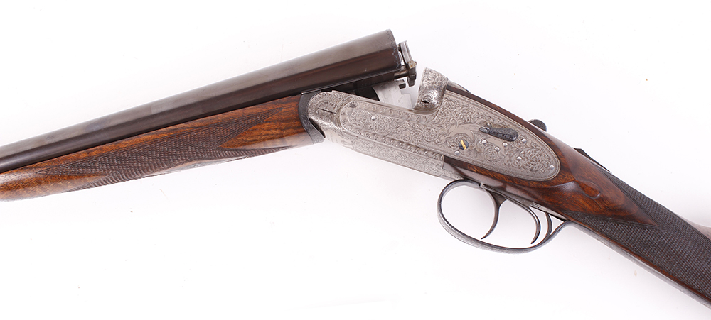 (S2) 20 bore self opening sidelock ejector by Pedro Arrizabalaga, with 26½ ins chopper lump barrels, - Image 7 of 22