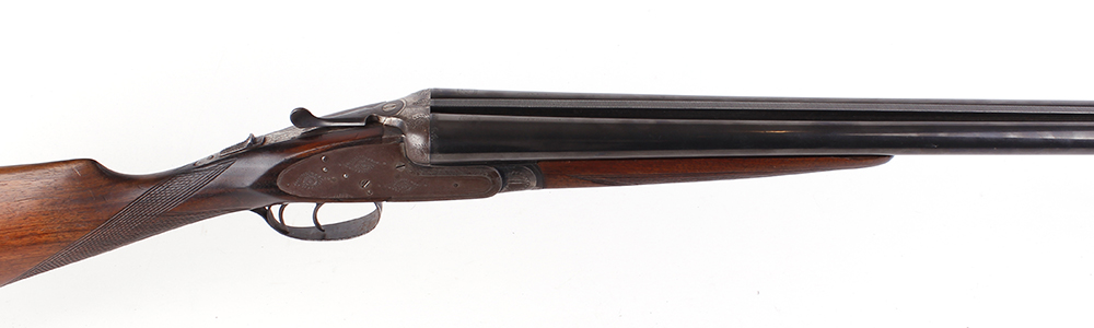 (S2) 12 bore sidelock non ejector by Laurona, 27¾ ins barrels, ic & ic, game rib, 70mm chambers,