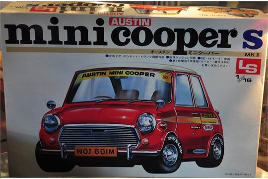 An Imported Japanese 116 Scale Austin Mini Cooper Construction Kit