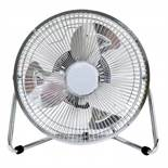 """(LF17) 9"""" Inch Chrome 3 Speed Floor Standing Gym Fan Hydroponic Stay cool this year with the..."""