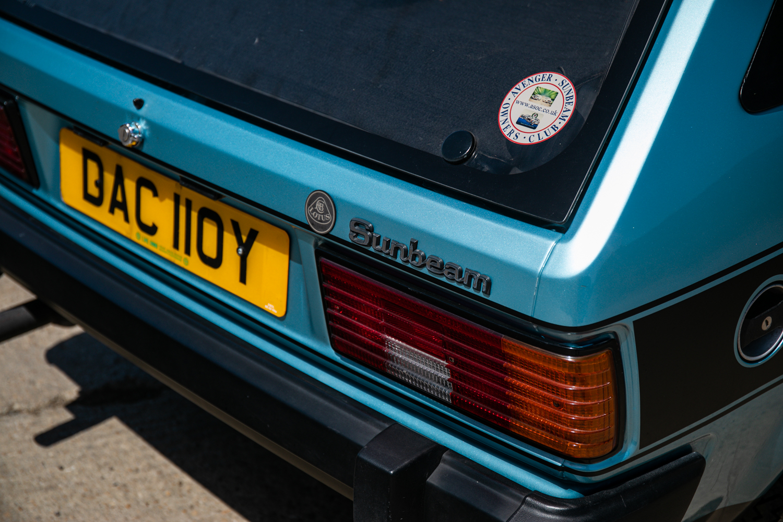 1983 Talbot Sunbeam Lotus - Image 9 of 22