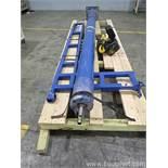 Gorbel SS-99039 250 Pound Capacity Free Standing Work Station Jib Crane