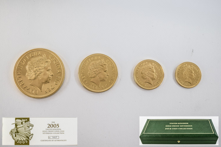 Lot 89 - Royal Mint 2005 United Kingdom Gold Proo