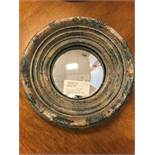 "Decorative Round mirrors 9"", 2 pcs (Lot)"