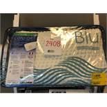 Queen medium profile bamboo pillow, Blu Sleep products