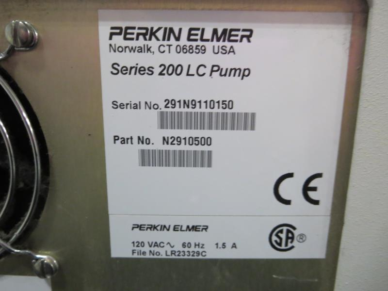Lot 30 - Perkin Elmer Series 200 LC Pump Micro Pump