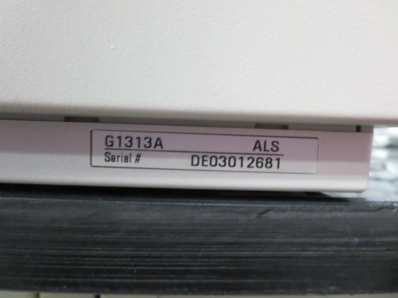 Lot 37 - Agilent G1313A ALS Auto Sampler