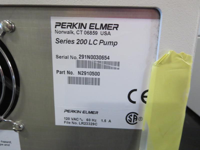 Lot 33 - Perkin Elmer Series 200 LC Pump Micro Pump