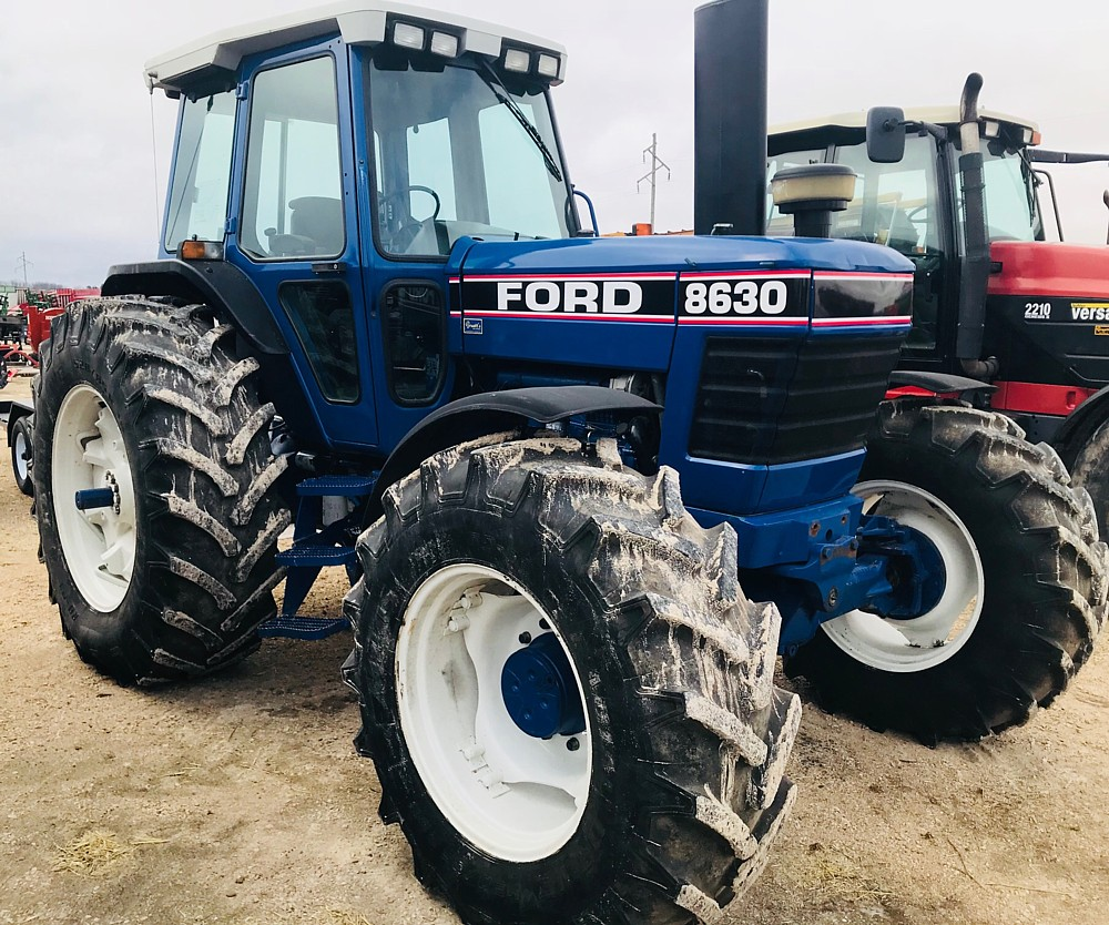 ford 8630 mfwd tractor 9700 hrs through the shop. Black Bedroom Furniture Sets. Home Design Ideas