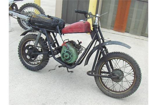 1969 fox kit bike no s dirt bike reo motor sold with a bill of
