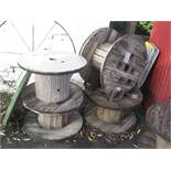 4 CABLE REELS
