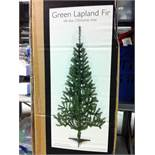 1 x Green Lapland Fir Christmas Tree. 20xRolls christmas gift wrap RRP£ 18.95