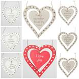 803 X KEYRINGS, HANGING HEARTS, PLAQUES, WHITEBOARDS, DOVES, ETC. RRP £ 2,566.35