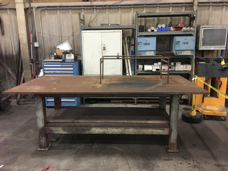 Lot 10 - Metal Work Table