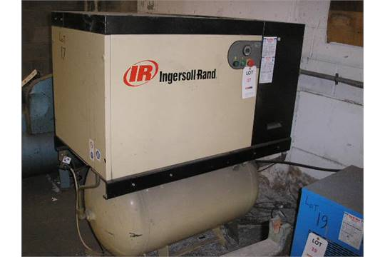 ingersoll rand unigy receiver mounted packaged air compressor s no rh bidspotter co uk